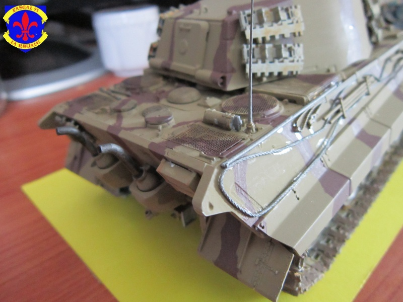 Sd.Kfz.182 King Tiger à tourelle Henschel de Dragon au 1/35e par pascal 72 4616