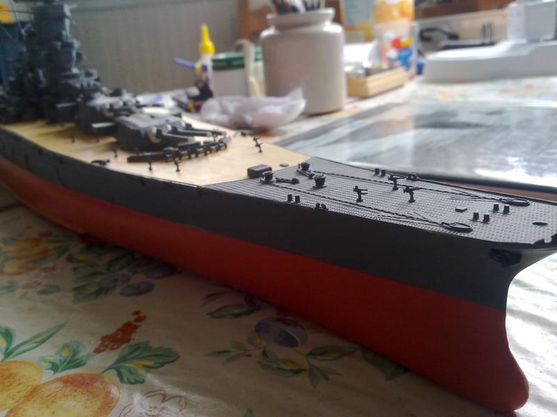 Cuirassé Yamato par Pascal 72 de Tamiya au 1/350 4710