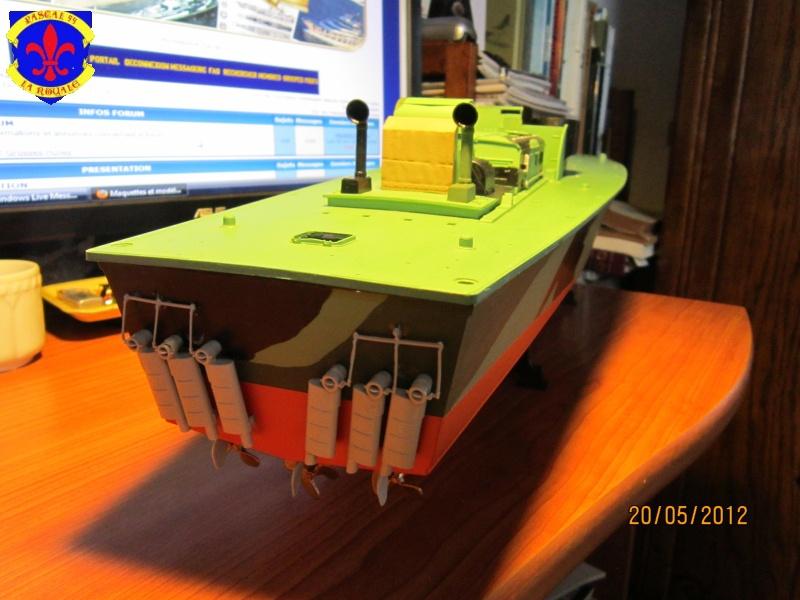 Elco 80 Torbedo boat par Pascal 72 Italeri au 1/35 4711