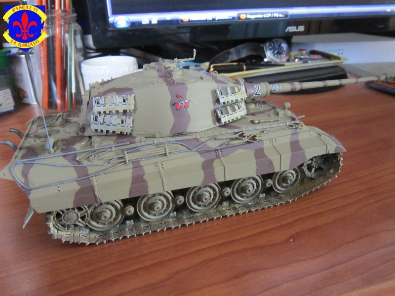 Sd.Kfz.182 King Tiger à tourelle Henschel de Dragon au 1/35e par pascal 72 4716