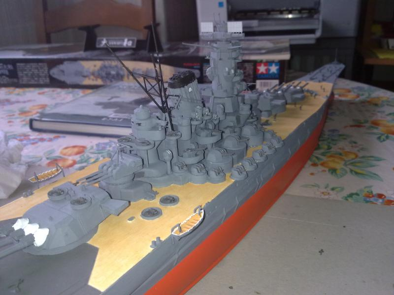 Cuirassé Yamato par Pascal 72 de Tamiya au 1/350 4810