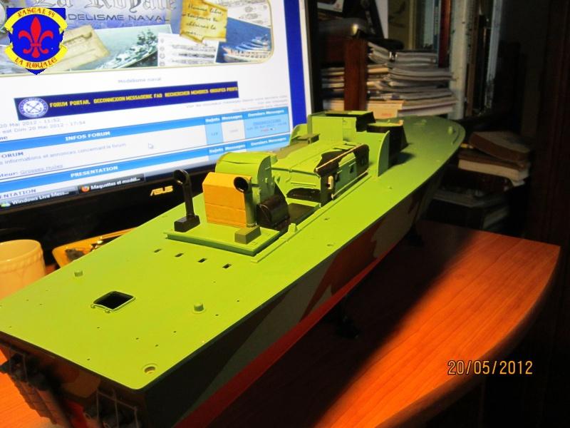 Elco 80 Torbedo boat par Pascal 72 Italeri au 1/35 4811