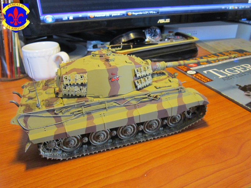 Sd.Kfz.182 King Tiger à tourelle Henschel de Dragon au 1/35e par pascal 72 4815
