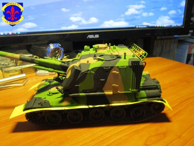 AMX 30 AUF1 au 1/35 d'Heller par Pascal 72 4818