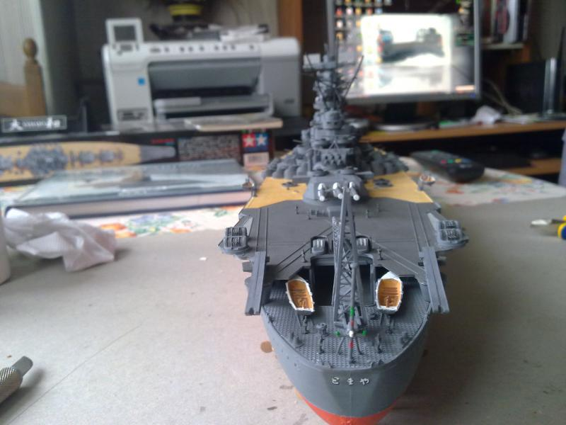 Cuirassé Yamato par Pascal 72 de Tamiya au 1/350 4910