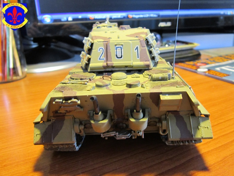 Sd.Kfz.182 King Tiger à tourelle Henschel de Dragon au 1/35e par pascal 72 4915
