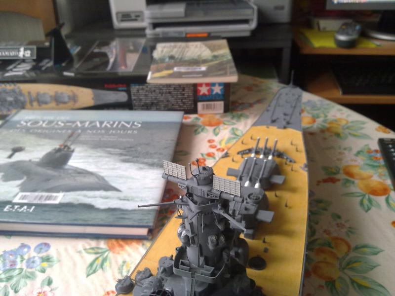 Cuirassé Yamato par Pascal 72 de Tamiya au 1/350 5010
