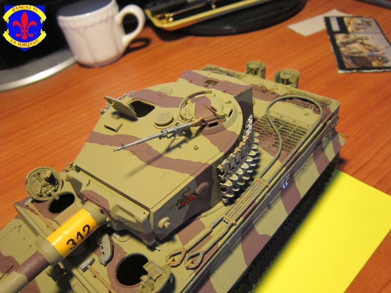 SD.KFZ.181 Tigre I de Tamiya au 1/35 par Pascal 72 5014