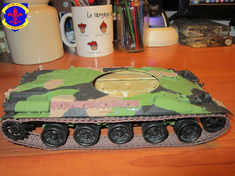 AMX 30 AUF1 au 1/35 d'Heller par Pascal 72 5018