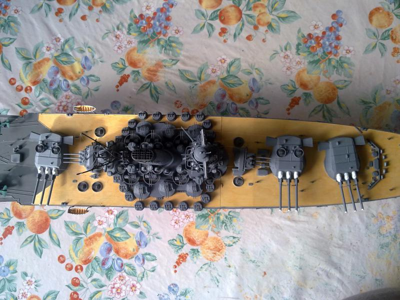 Cuirassé Yamato par Pascal 72 de Tamiya au 1/350 510