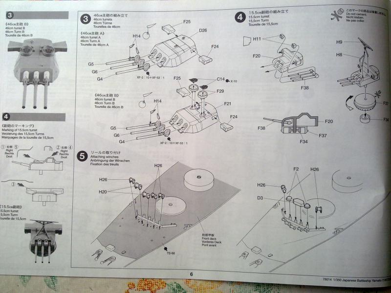 Cuirassé Yamato par Pascal 72 de Tamiya au 1/350 511