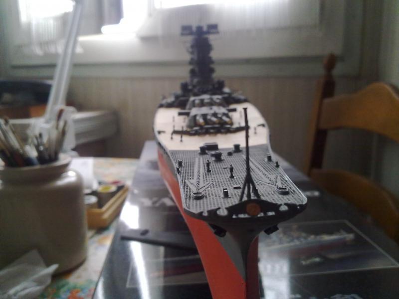 Cuirassé Yamato par Pascal 72 de Tamiya au 1/350 5110