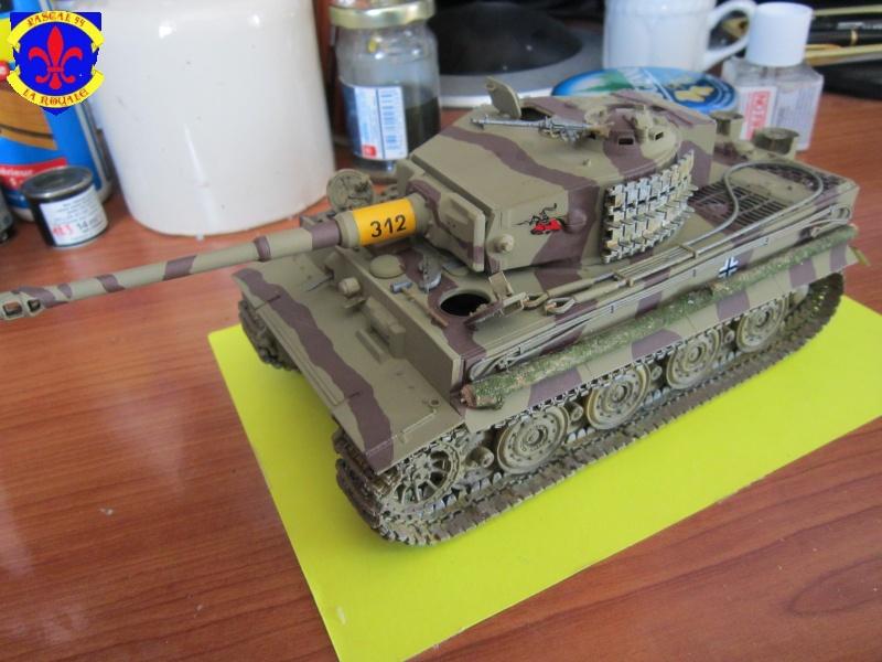 SD.KFZ.181 Tigre I de Tamiya au 1/35 par Pascal 72 5114