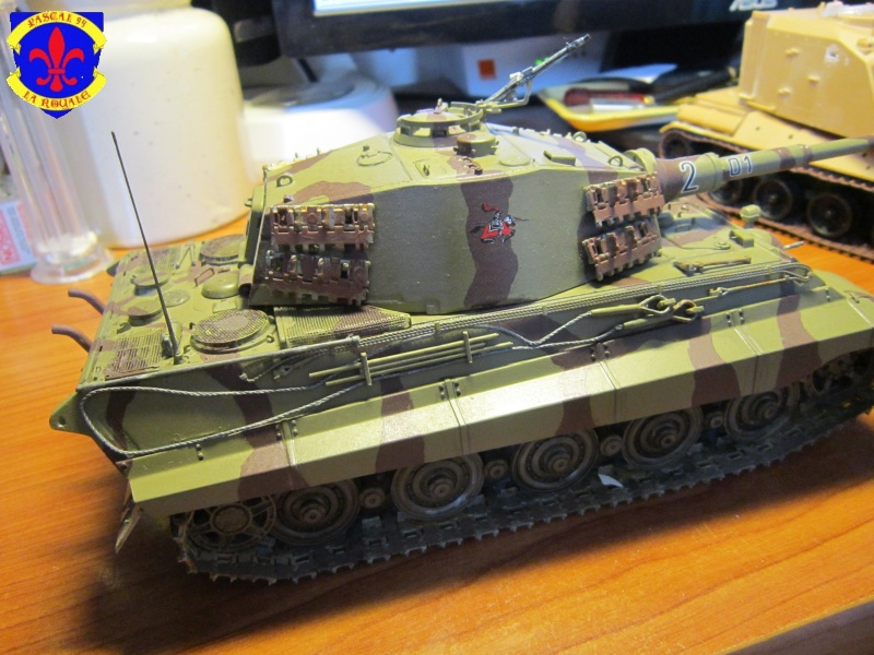 Sd.Kfz.182 King Tiger à tourelle Henschel de Dragon au 1/35e par pascal 72 5115