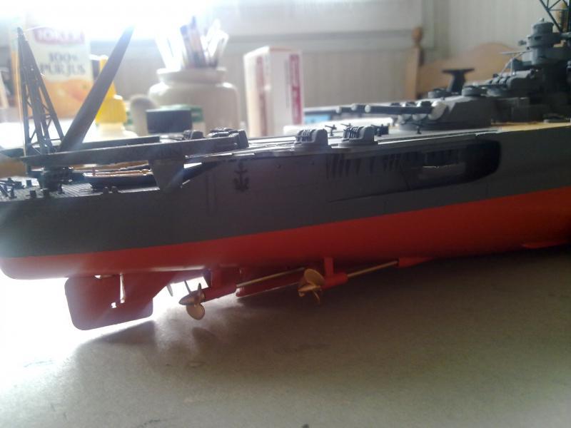 Cuirassé Yamato par Pascal 72 de Tamiya au 1/350 5210