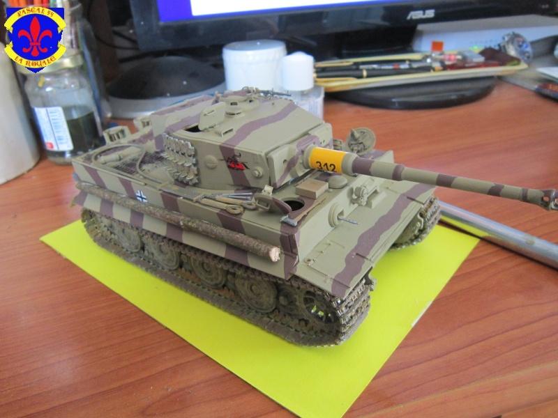 SD.KFZ.181 Tigre I de Tamiya au 1/35 par Pascal 72 5214