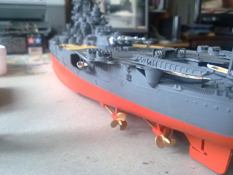 Cuirassé Yamato par Pascal 72 de Tamiya au 1/350 5310
