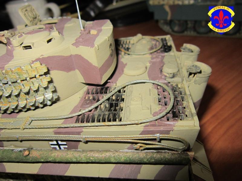 SD.KFZ.181 Tigre I de Tamiya au 1/35 par Pascal 72 5414