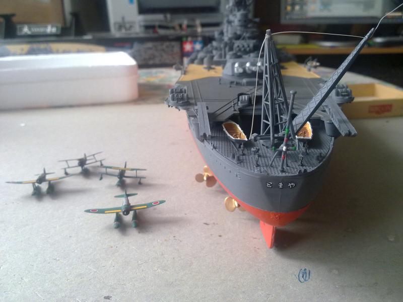 Cuirassé Yamato par Pascal 72 de Tamiya au 1/350 5510
