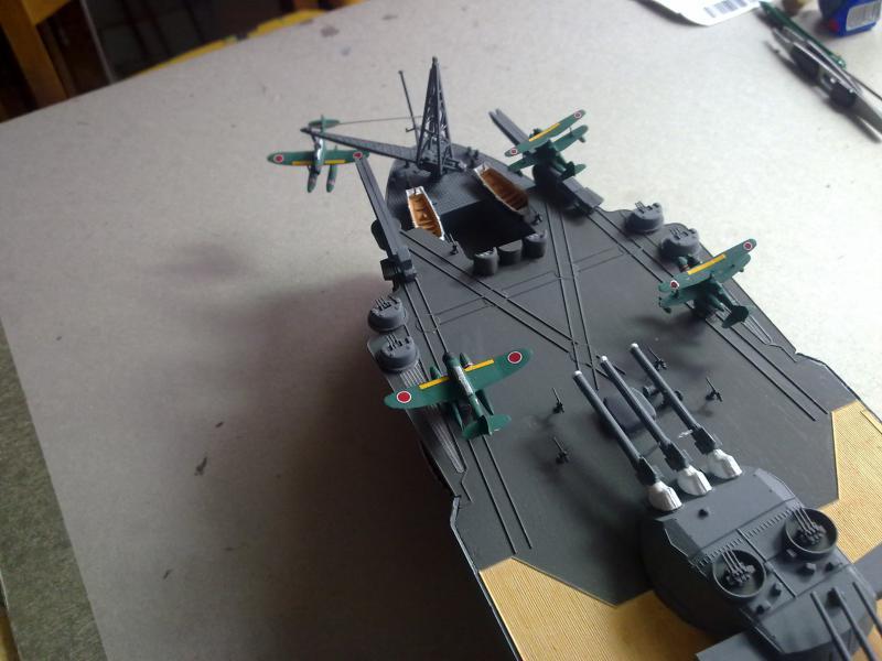 Cuirassé Yamato par Pascal 72 de Tamiya au 1/350 5610