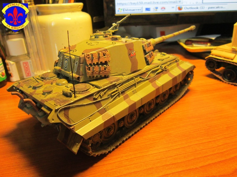 Sd.Kfz.182 King Tiger à tourelle Henschel de Dragon au 1/35e par pascal 72 5615