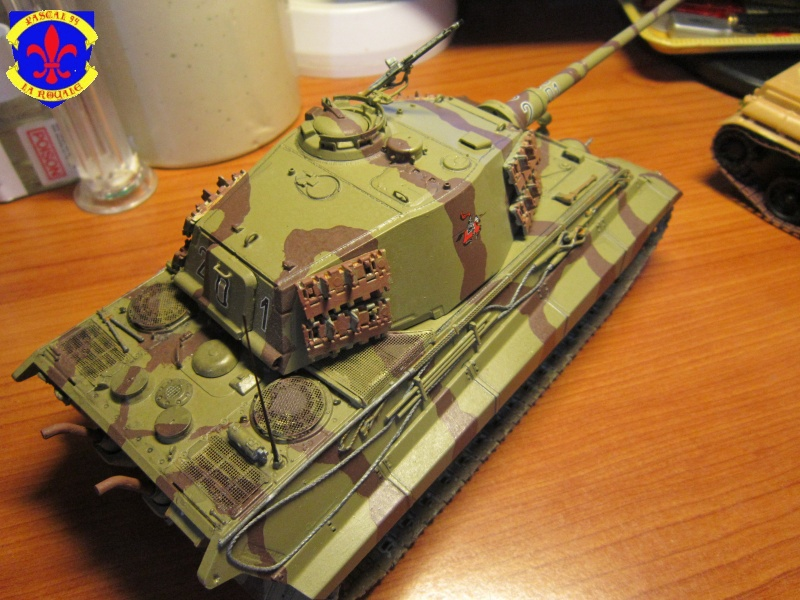 Sd.Kfz.182 King Tiger à tourelle Henschel de Dragon au 1/35e par pascal 72 5715