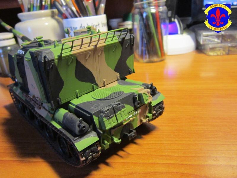 AMX 30 AUF1 au 1/35 d'Heller par Pascal 72 5915