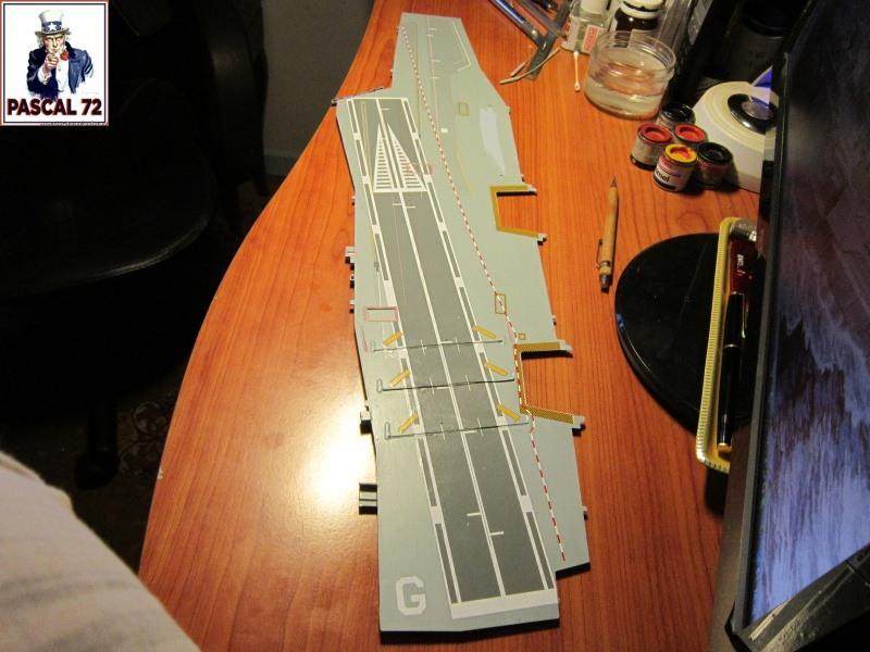 Porte avions Charles De Gaulle au 1/400 d'Heller par Pascal 72 5917