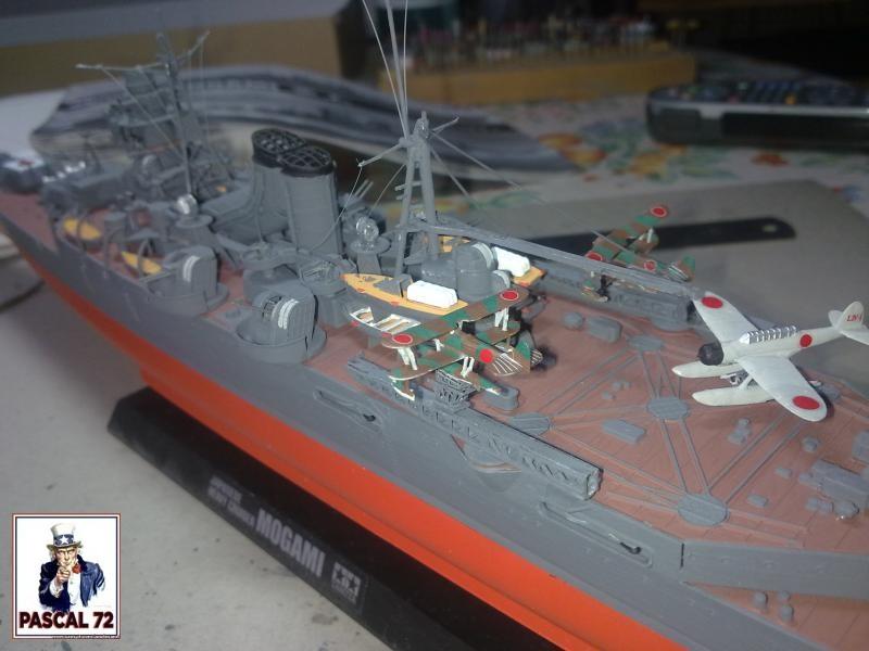 Croiseur lourd MOGAMI au 1/350 de Tamiya par pascal 72 59_110