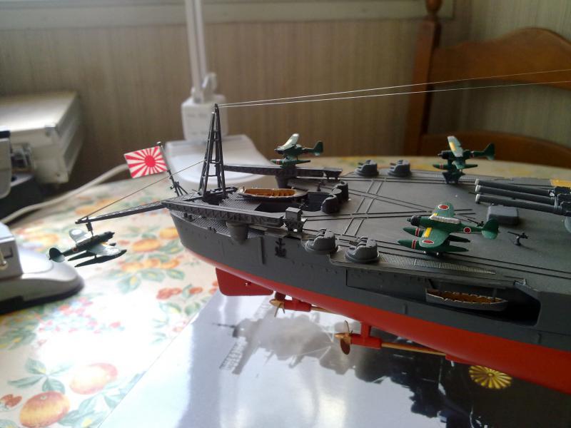 Cuirassé Yamato par Pascal 72 de Tamiya au 1/350 6010