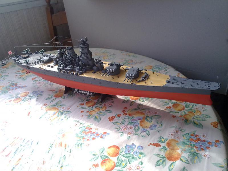 Cuirassé Yamato par Pascal 72 de Tamiya au 1/350 610