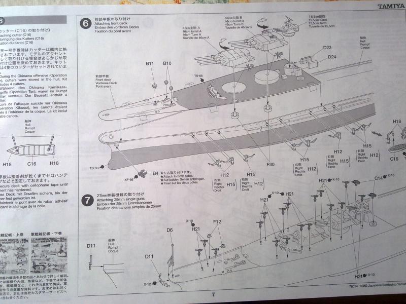 Cuirassé Yamato par Pascal 72 de Tamiya au 1/350 611