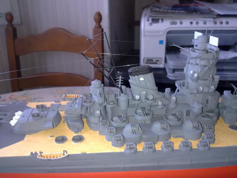 Cuirassé Yamato par Pascal 72 de Tamiya au 1/350 6110