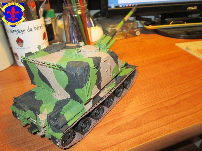 AMX 30 AUF1 au 1/35 d'Heller par Pascal 72 6114