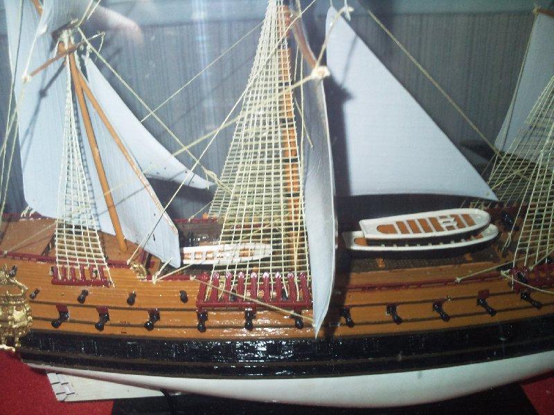 LE PHENIX, vaisseau au 1/150e par pascal 94 - Heller 61158910