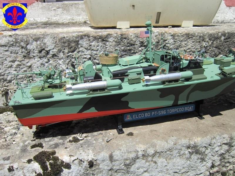 Elco 80 Torbedo boat par Pascal 72 Italeri au 1/35 619