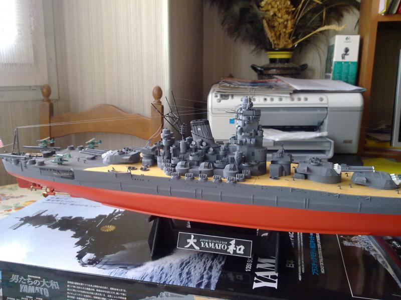 Cuirassé Yamato par Pascal 72 de Tamiya au 1/350 6210