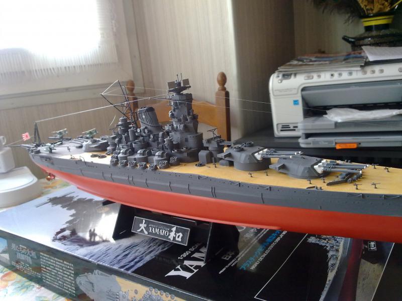 Cuirassé Yamato par Pascal 72 de Tamiya au 1/350 6310