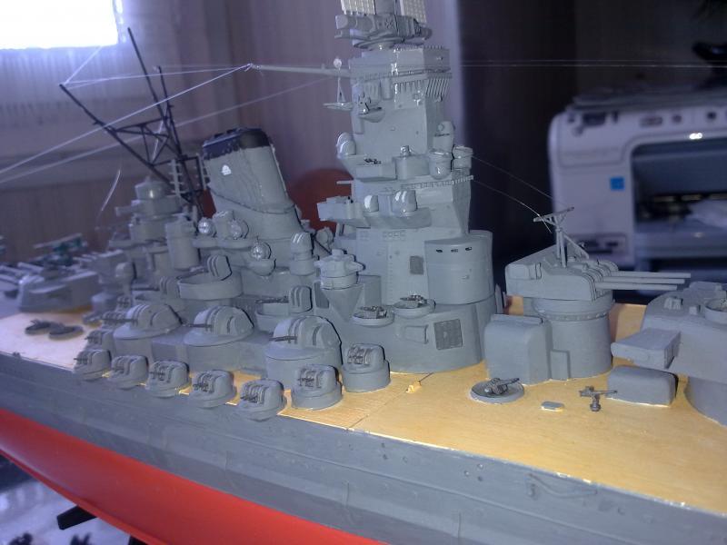 Cuirassé Yamato par Pascal 72 de Tamiya au 1/350 6410