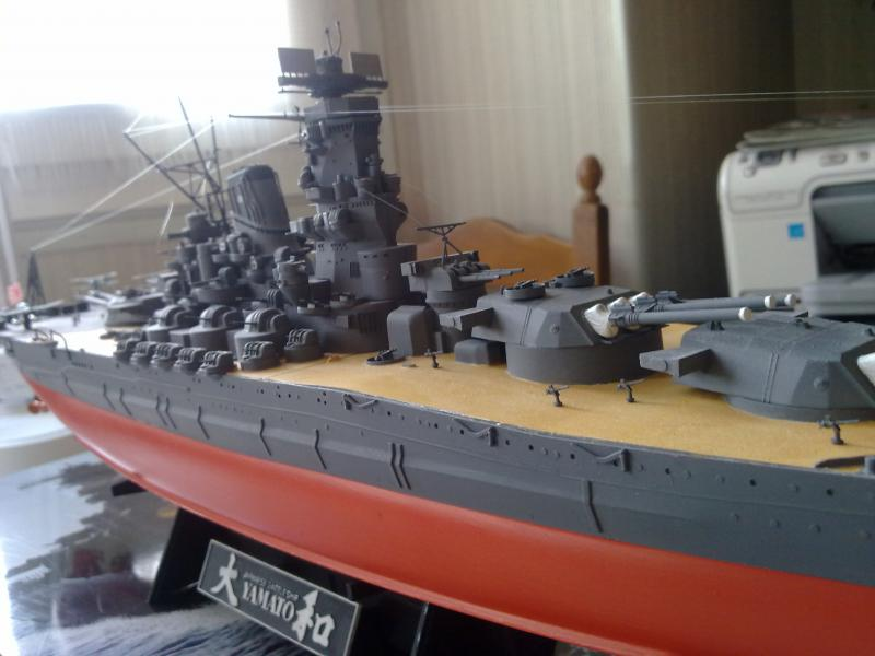Cuirassé Yamato par Pascal 72 de Tamiya au 1/350 6510