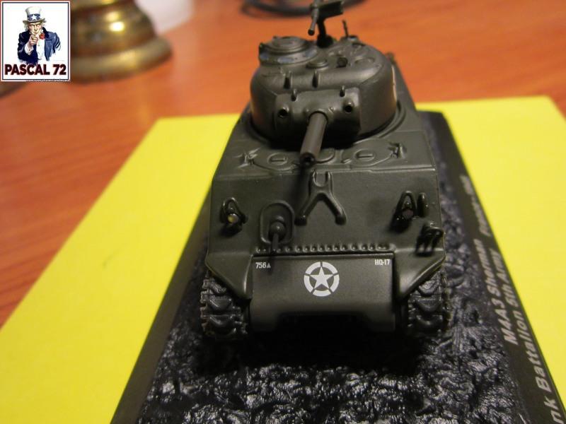 Char Sherman M4A3 du 756 bataillon 653