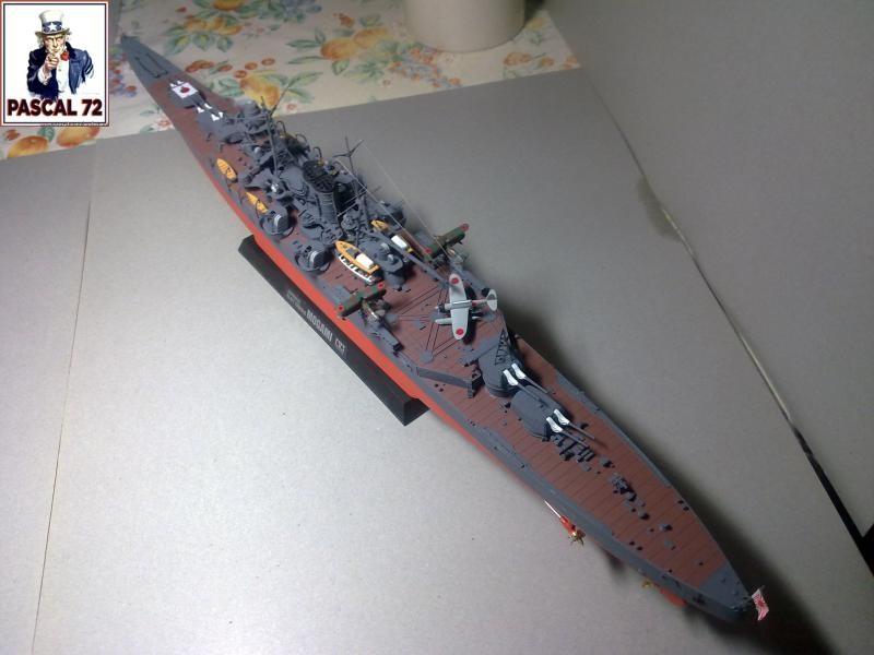 Croiseur lourd MOGAMI au 1/350 de Tamiya par pascal 72 65_110