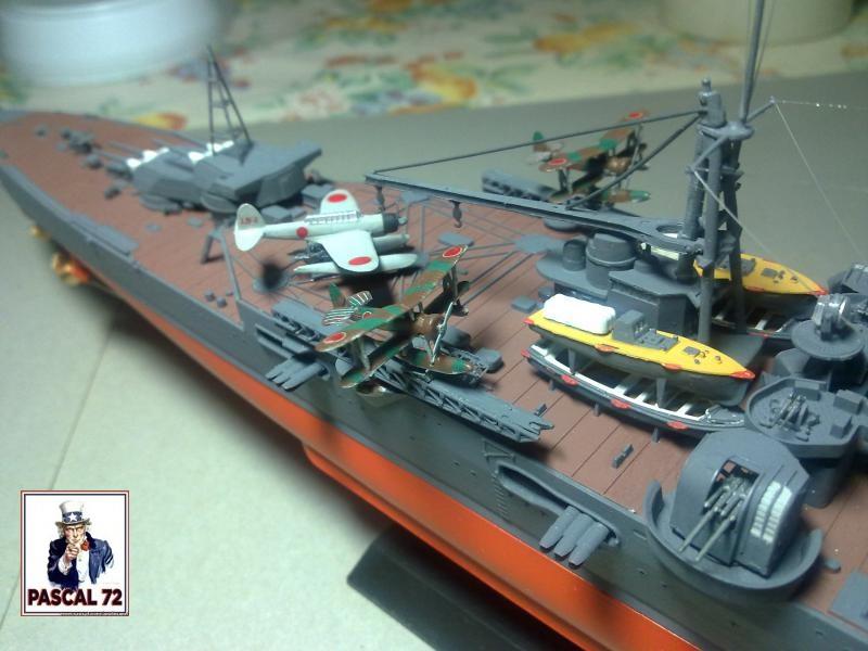 Croiseur lourd MOGAMI au 1/350 de Tamiya par pascal 72 69_110