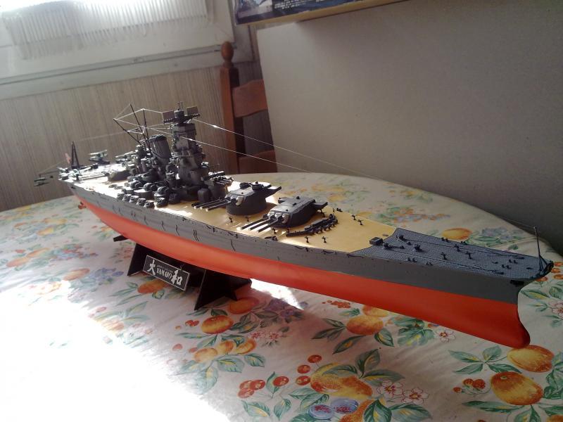 Cuirassé Yamato par Pascal 72 de Tamiya au 1/350 710
