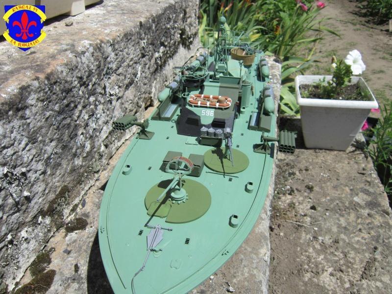 Elco 80 Torbedo boat par Pascal 72 Italeri au 1/35 717
