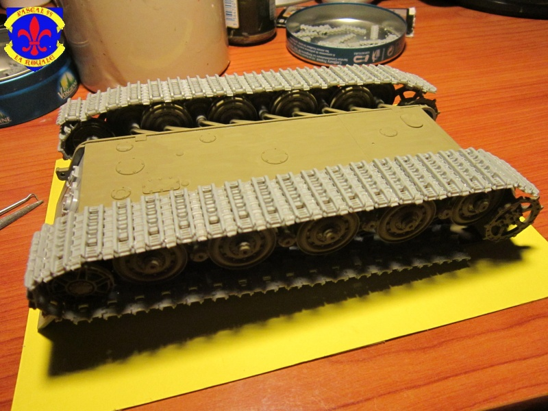 Sd.Kfz.182 King Tiger à tourelle Henschel de Dragon au 1/35e par pascal 72 730