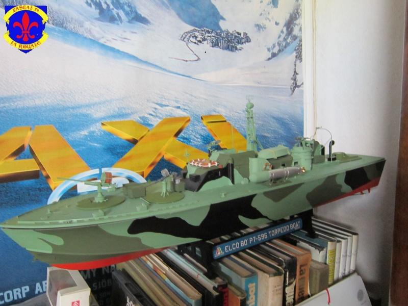 Elco 80 Torbedo boat par Pascal 72 Italeri au 1/35 7710