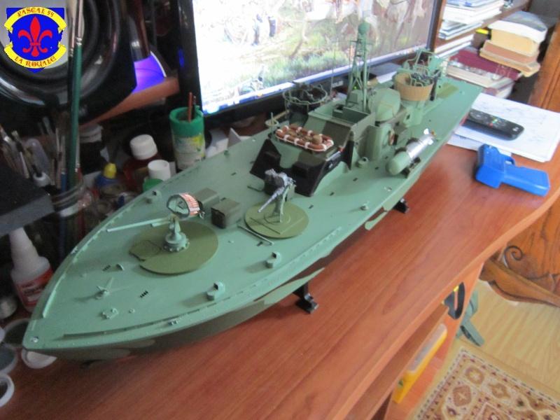 Elco 80 Torbedo boat par Pascal 72 Italeri au 1/35 7810