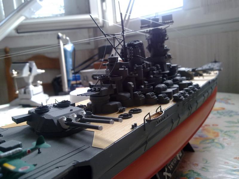 Cuirassé Yamato par Pascal 72 de Tamiya au 1/350 810