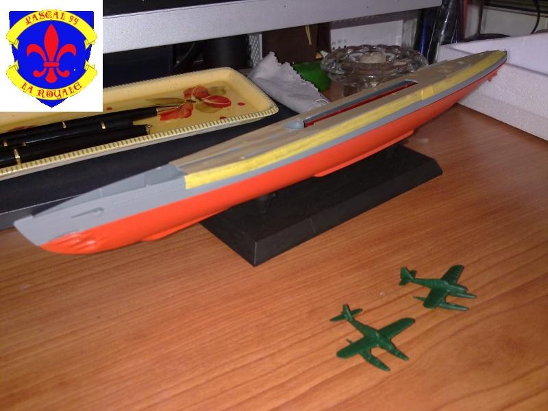 sous marin I-400  de Tamiya par pascal 72 au 1/350 817